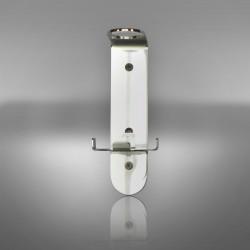 Wall bracket for pump dispenser
