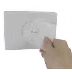 Dispencer box white