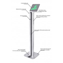 Hand Sanitizer Dispenser Stand