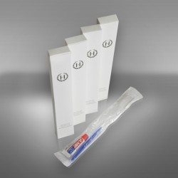 Toothpaste with toothbrush