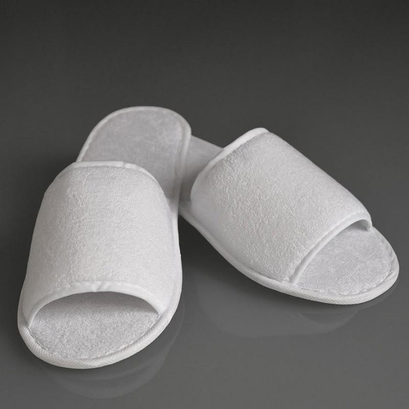 20 Paar Frottee Slipper Hausschuhe Hotelschuhe Spa Pantoffeln Badeslipper