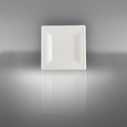 Zuckerrohrteller quadratisch 16 x 16 cm